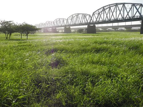 屏東縣政府擬於國定古蹟下淡水溪鐵橋附近興建殯葬園區。