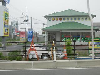 2012/7/1 南相馬市 小高駅近く、国道6号大井交差点