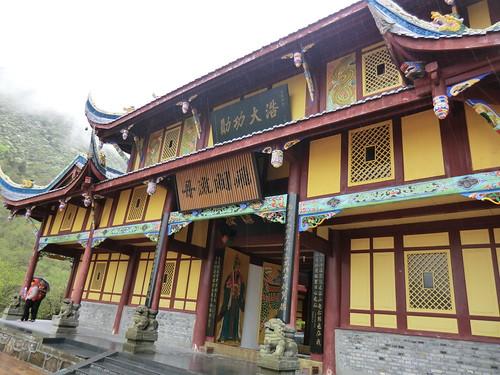 黄龍古寺 in 四川省