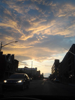 Pittsburgh clouds, Bloomfield