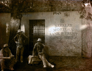 The tale of The Barklay Mortgan Bank and Trust was lost in history