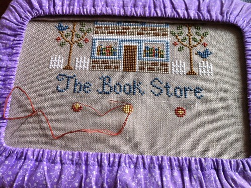 The Book Store - progress