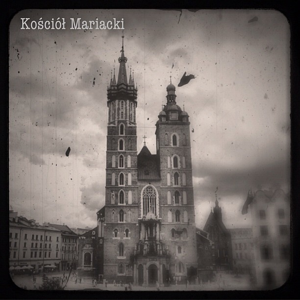 St. Mary's Basilica 1 of 4 ••• #camera+ #scratchcam #phonto