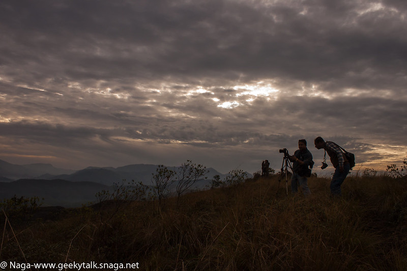 Photographers at work, Munnar