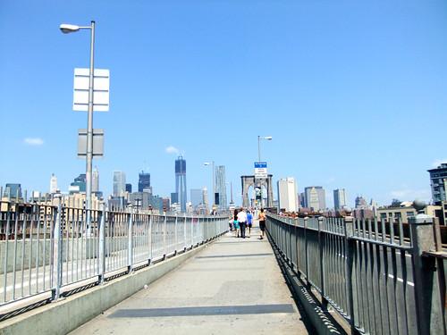 Walk über die Brooklyn Bridge