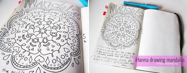 iHanna Drawing a Mandala