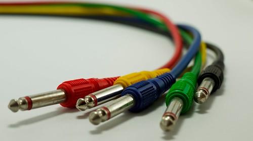 Cómo identificar cables de audio