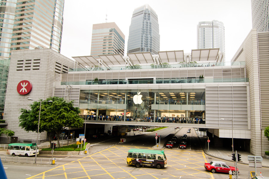 hong kong apple store