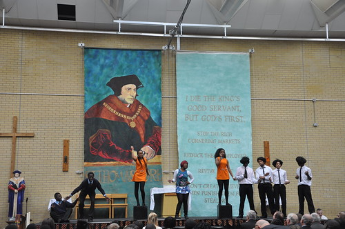 St Thomas More play