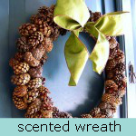 scented wreath