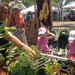 Aquaponics exhibit at the Smithsonian Folklife Festival.