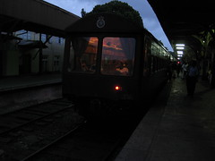 Express to Kandy at Colombo Fort stn.
