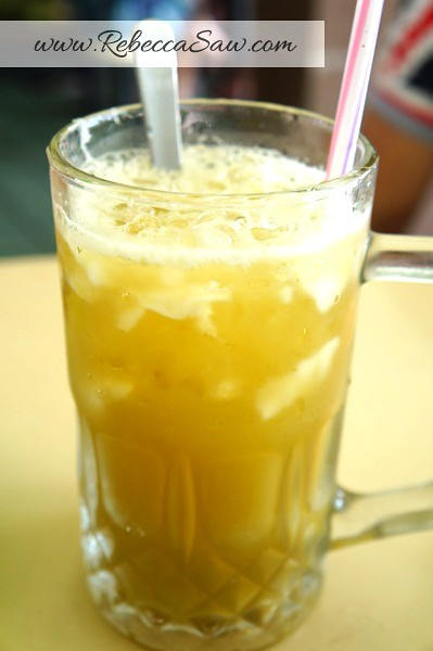 sugarcane coconut drink - soon kheng hai kuching