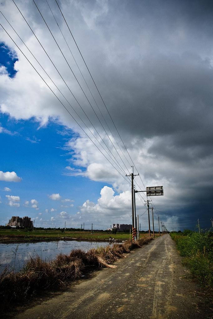 前方往暴風雨
