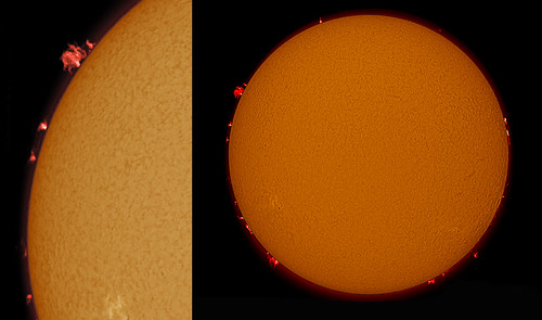 18 July 2012 sun and proms by pennine cloud