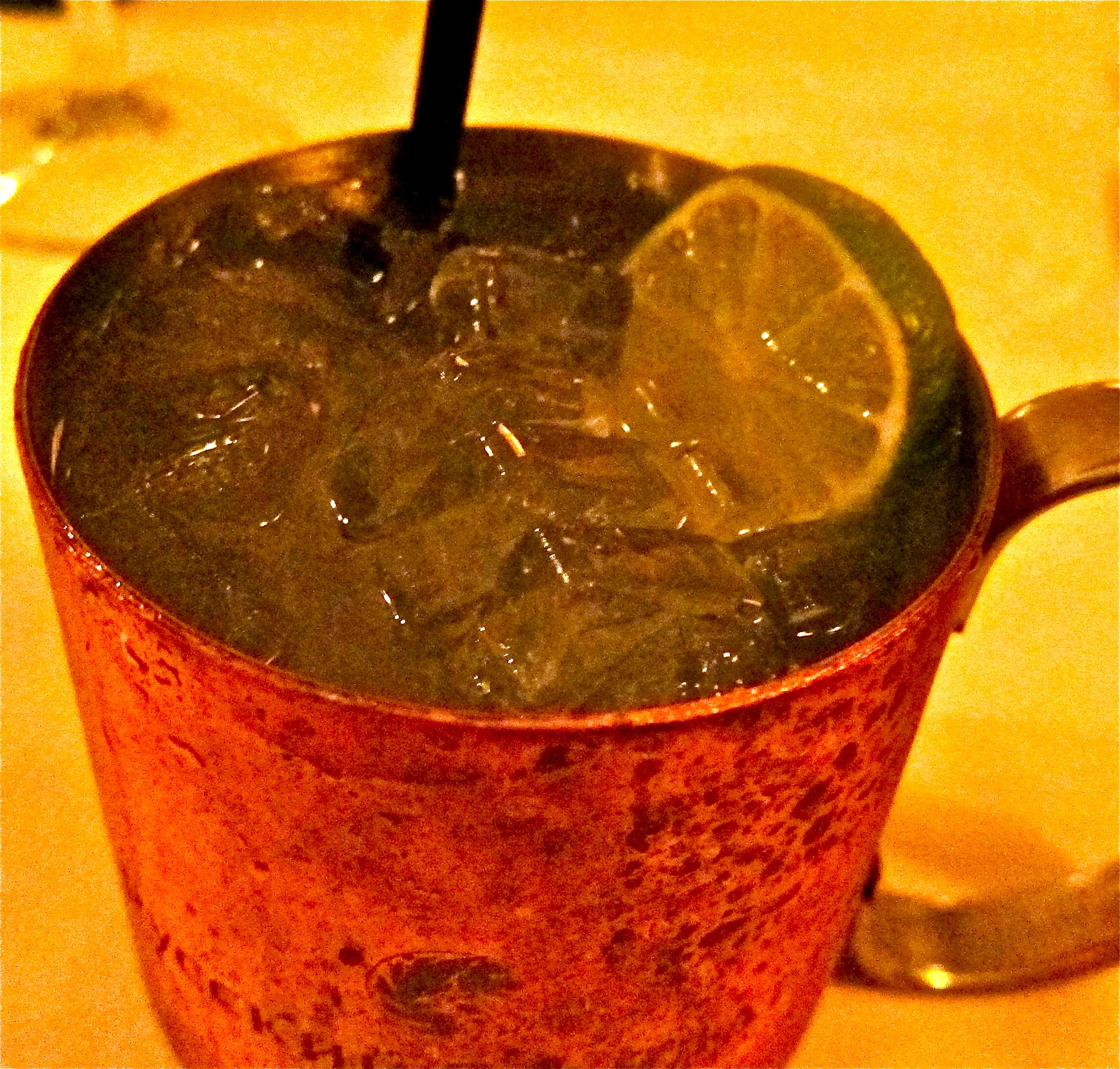 their versionof Moscow Mule