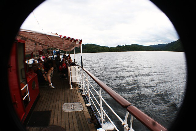 Loch Katrine, Scotland from Tour Boat