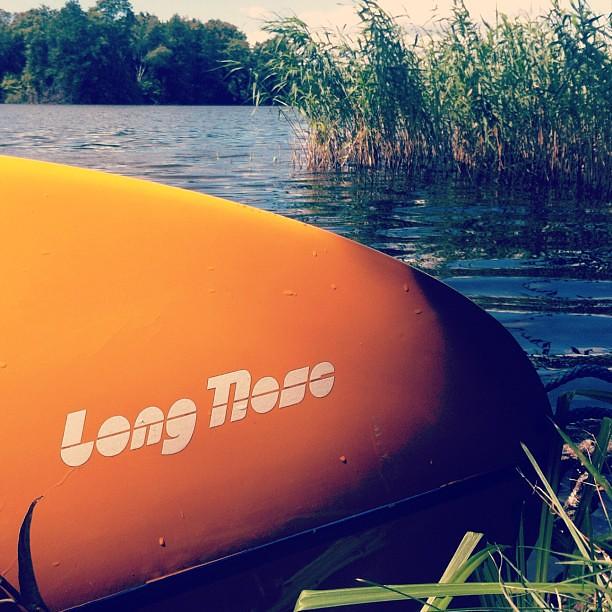 Unser Boot heißt Long Nose.