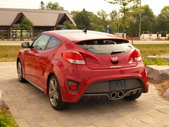 automobile, automotive exterior, hyundai, wheel, vehicle, automotive design, hyundai veloster, bumper, land vehicle, coupã©, sports car,