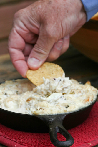 Crab Dip with Pickled Jalapeños and Goat Cheese 2