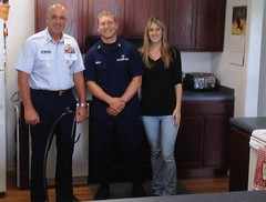A visit to Coast Guard housing