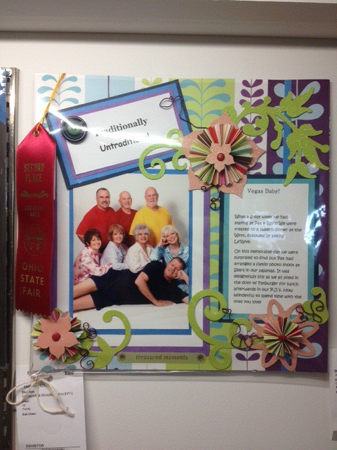 Mom's Scrapbook Entry
