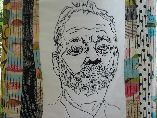 detail of Tea in the Tree house with Bill Murray