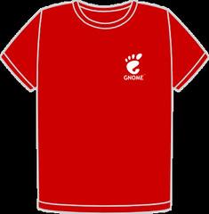 GUADEC-ES 2010 Denmark T-Shirt Front