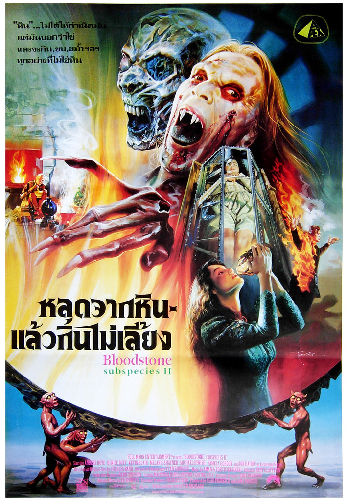 Bloodstone, Subspecies II, 1990's (Thai Film Poster)
