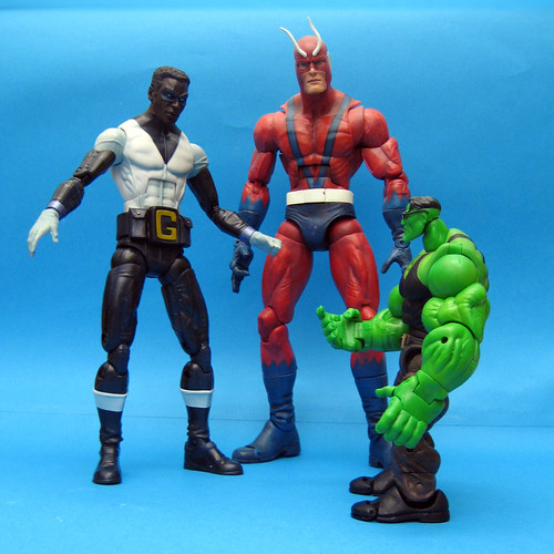 Goliath, Giant-Man and Smart Hulk