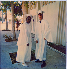 Doug and I at our HS graduation