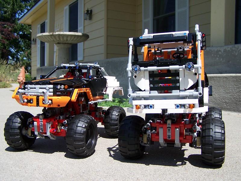 9398 B Alternate Model 4x4 Offroad Cab Over Truck Lego Technic