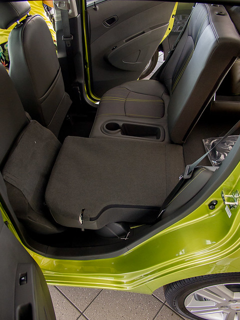 Chevy Spark Rear Driver Side Seat Down