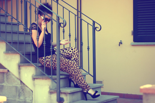leopard print and sorbet