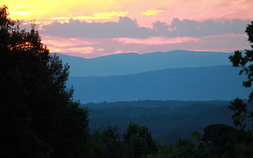 sunset blueridgemountains appalachianmountains