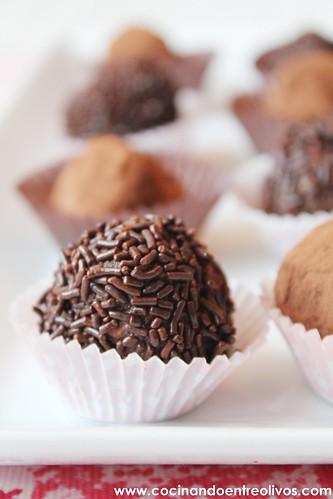 Trufas de chocolate con frutos secos (16)