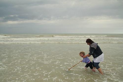 """Atelier pratique """"pêche à la crevette"""""""
