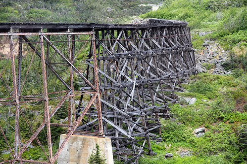 White Pass Railroad - Scary Bridge