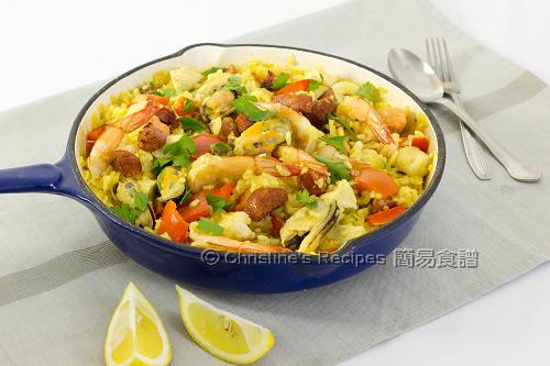 西班牙海鮮飯 Paella02