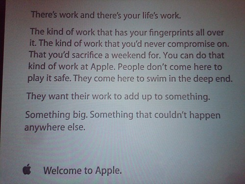 Welcome To Apple by Cherih87