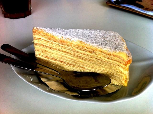 FF vanilla mille crepe
