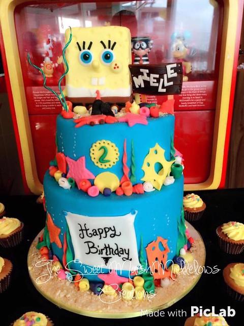 Underwater Spongebob Cake By Michelle Bianca Lao Luna
