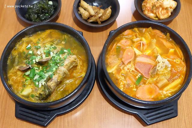 28500366984 6df5b0764b z - 金美子純正韓式料理:有台中少見的馬鈴薯鍋,餐點平價選擇性多,適合三五好友和家庭用餐