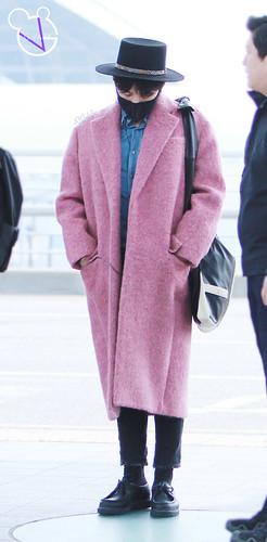 Big Bang - Incheon Airport - 21mar2015 - G-Dragon - G_Vaby - 12