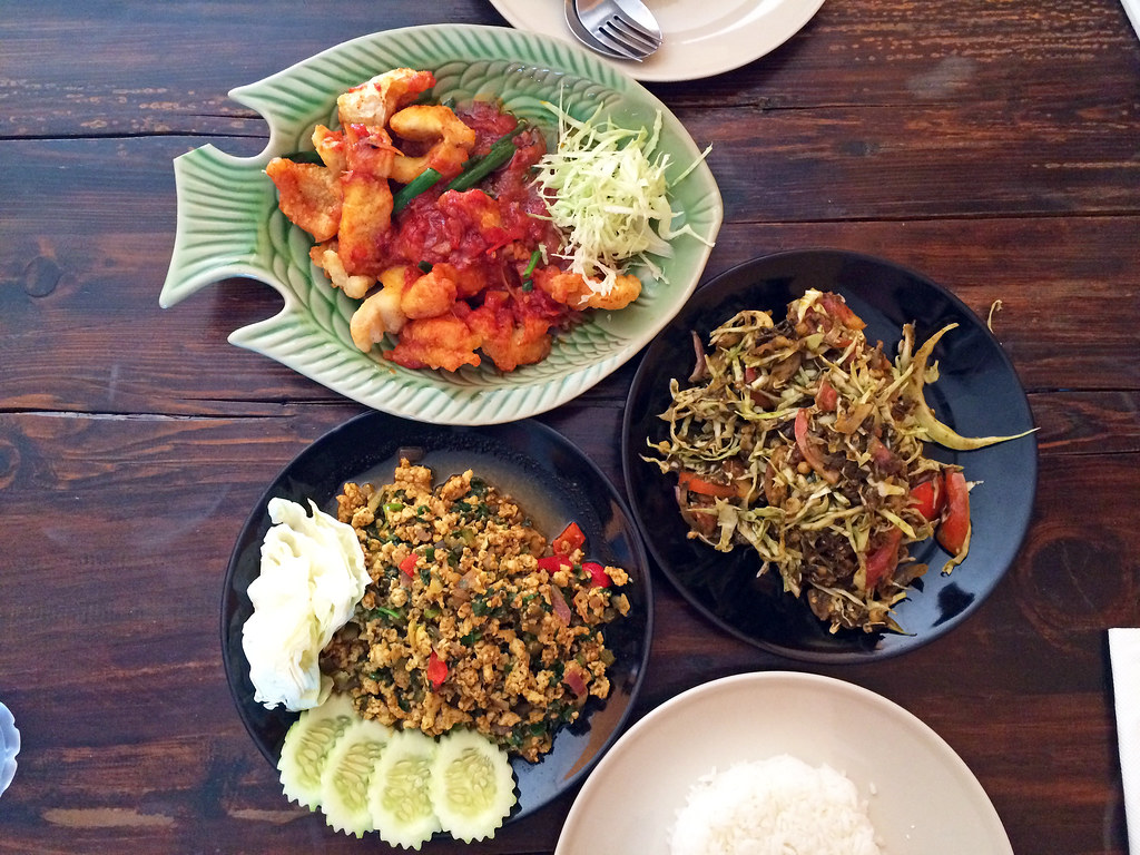 Lunch at Swan Burmese Cuisine