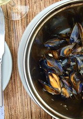 Fresh Catch Of The Day Mussels.