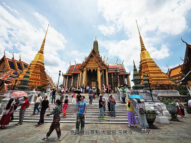 泰國曼谷景點 大皇宮 玉佛寺  84
