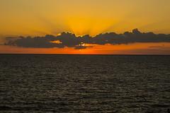August Sunset Over Lake Erie
