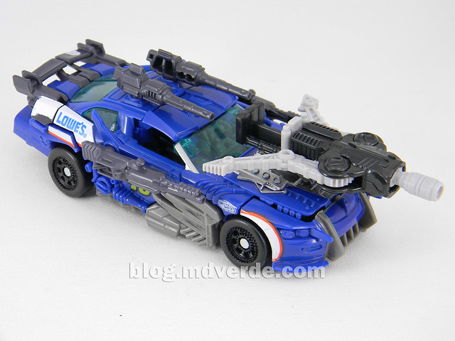 Transformers Topspin Deluxe - Dark of the Moon - modo alterno