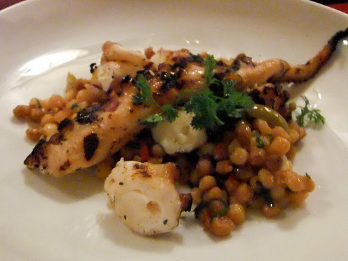 Grilled Octopus with Fregola, Alison Eighteen